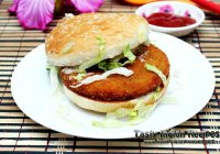 Mcdonalds veggie burger recipe in hindi