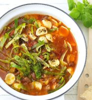Minestrone soup recipe italian by delia smith