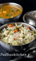 Mix vegetable rice recipe indian