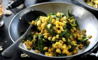 Mixed vegetable saag recipe food