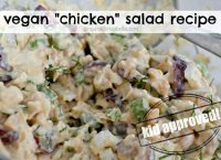 Mock chicken salad recipe chickpeas