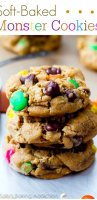 Monster cookie recipe with smarties flavors