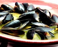 Mussels recipe white wine and garlic