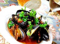 Mussels recipe white wine garlic tomato pasta