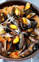 Mussels recipe white wine parsley
