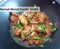 Namak mandi mutton karahi recipe video