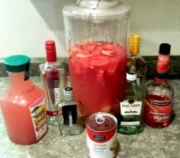 New amsterdam red berry recipe