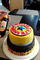 New castle beer cake recipe