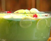 Non alcoholic punch with sherbet recipe