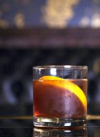 Old fashioned recipe with orange bitters