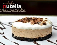Oreo nutella cheesecake recipe no-bake