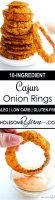 Organic baked onion rings recipe