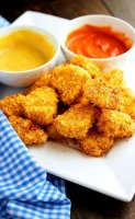 Oven baked chicken sweet nuggets recipe