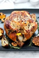 Oven baked chicken whole recipe