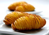 Oven baked fried potatoes recipe with olive oil