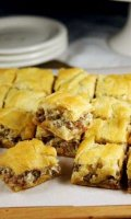 Pampered chef italian sausage bread recipe