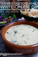 Pancho villa white cheese sauce recipe