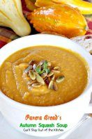 Panera bread autumn harvest soup recipe