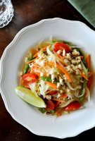 Papaya green salad recipe carrots