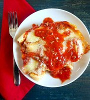 Pasta dough recipe for cannelloni crepes