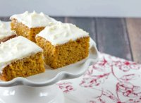 Paula deen recipe pumpkin bars cream cheese frosting