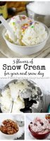 Paula deen snow ice cream recipe