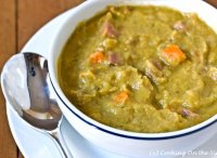 Pea and ham soup recipe with split peas and ham