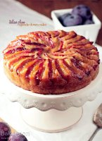 Plum upside down cake recipe uk