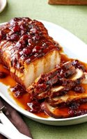 Pork loin slow cooker recipe cranberry