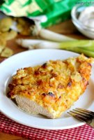 Potato chip baked chicken recipe