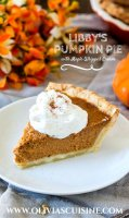 Pumpkin pie recipe with maple whipped cream