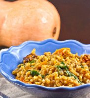 Pumpkin risotto pressure cooker recipe
