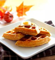 Pumpkin waffle recipe without milk