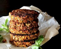Quick quinoa veggie burger recipe