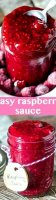 Raspberry muffin recipe with frozen raspberries sauce