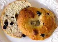 Recipe bread machine blueberry bagels