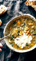 Recipe crock pot lentil kale soup