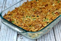 Recipe for a green bean casserole