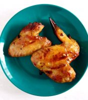Recipe for apricot glazed chicken wings