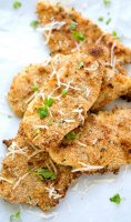 Recipe for baked parmesan chicken tenders