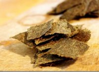 Recipe for chia seed crackers