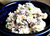 Recipe for chicken salad with grapes and pecans