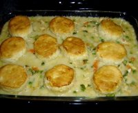 Recipe for chicken stew and biscuits