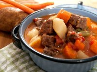 Recipe for cooking beef stew in pressure cooker