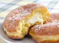 Recipe for cream cheese filled donuts