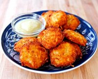 Recipe for crispy potato latkes