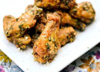 Recipe for garlic and parmesan chicken wings