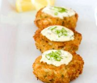 Recipe for lemon sauce for crab cakes