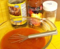Recipe for mild hot wing sauce