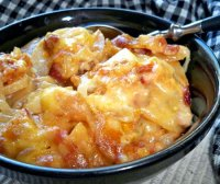 Recipe for scalloped potatoes with cream of chicken soup